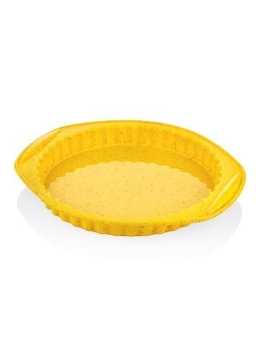 The Mia Maya Kek Kalıbı 30 Cm Gri Sarı
